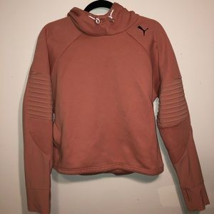 Women's blush puma sweatshirt